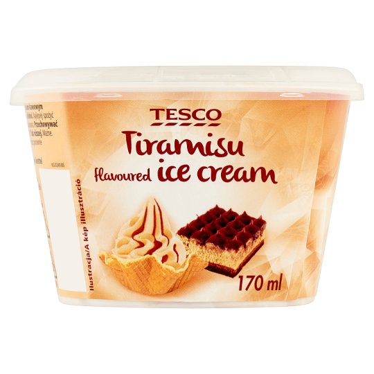 Tesco Tiramisu Flavoured Ice Cream 90 g