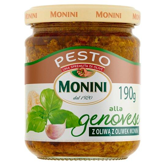 Monini Pesto Sauce with Basil 190 g