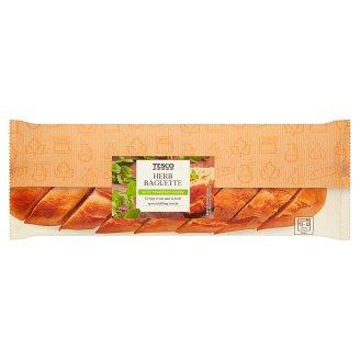 Tesco Bagietka z ziołami 155 g