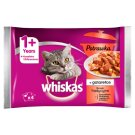 Whiskas 1+ Years Stew in Jelly Traditional Flavors Complete Cat Food 340 g (4 x 85 g)