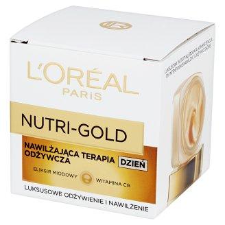 L'Oreal Paris Nutri-Gold Nawilżająca terapia odżywcza Krem na dzień 50 ml