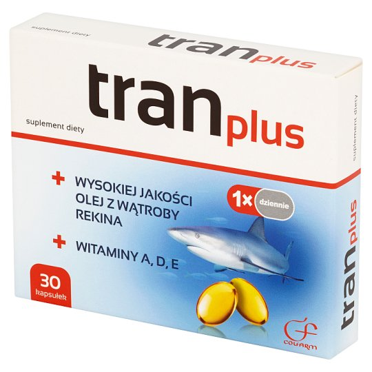 Colfarm Tran Plus Dietary Supplement 30 Capsules