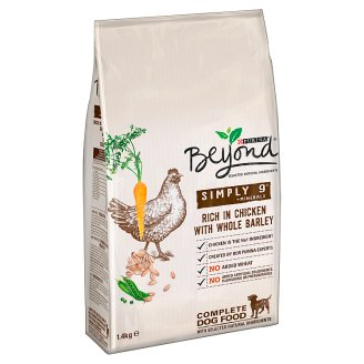 Purina Beyond Simply 9 Rich in Chicken with Whole Barley Complete Dog Food 1.4 kg