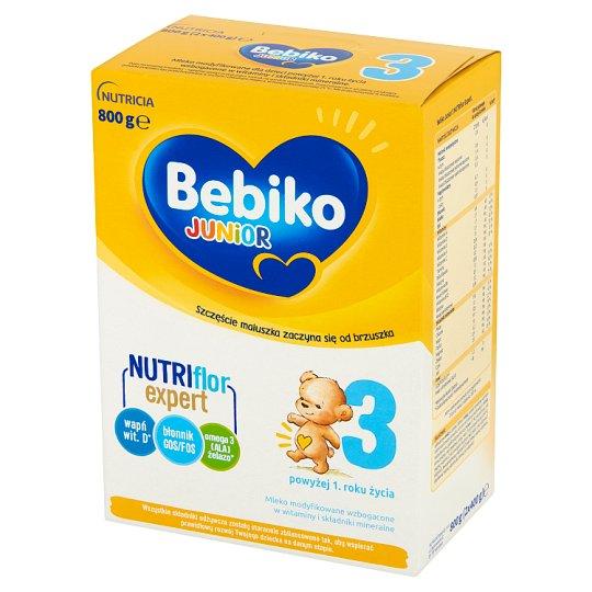 Bebiko Junior 3 Mleko modyfikowane dla dzieci powyżej 1. roku życia 800 g
