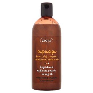 Ziaja Cupuacu Shower and Bath Crystal Soap 500 ml
