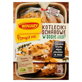 Winiary Pomysł na... Pork Chops Cutlets in Sauce with Green Pepper 44 g
