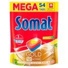 Somat Gold Lemon & Lime Tabletki do mycia naczyń w zmywarkach 1036,8 g (54 x 19,2 g)
