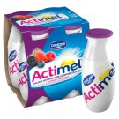 Danone Actimel Forest Fruits with Strawberries Flavoured Fermented Milk 400 g (4 x 100 g)