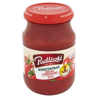 Pudliszki Strongly Tomato Puree 32% 195 g