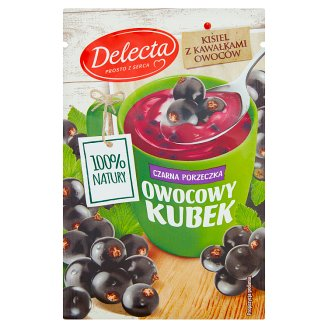 Delecta Owocowy kubek Black Currant Flavoured Jelly 30 g