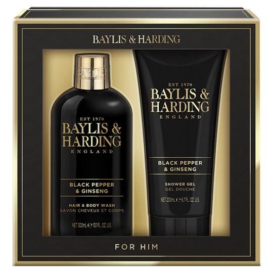 Baylis & Harding Men's Black Pepper & Ginseng Zestaw kosmetyków