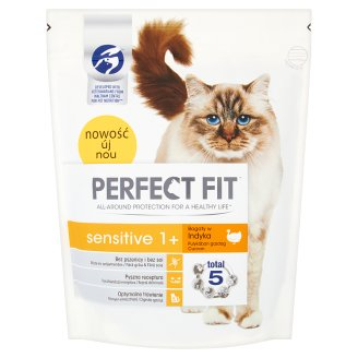 Perfect Fit Sensitive 1+ Complete Pet Food for Adult Cats 750 g