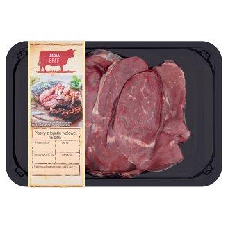 Tesco Slices Beef Shoulder to Cutlets 400 g