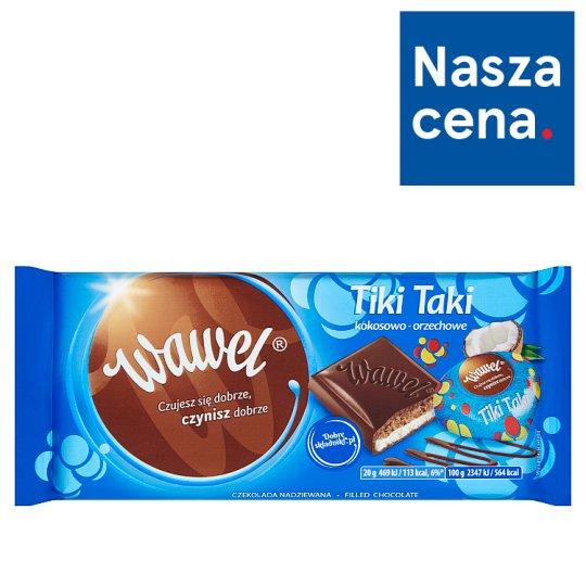 Wawel Tiki Taki Coconut-Peanut Filled Chocolate 100 g