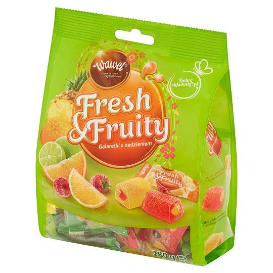 Wawel Fresh & Fruity Filled Jellies 280 g