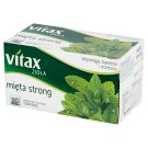 Vitax Zioła Strong Mint Herbal Tea 30 g (20 x 1.5 g)