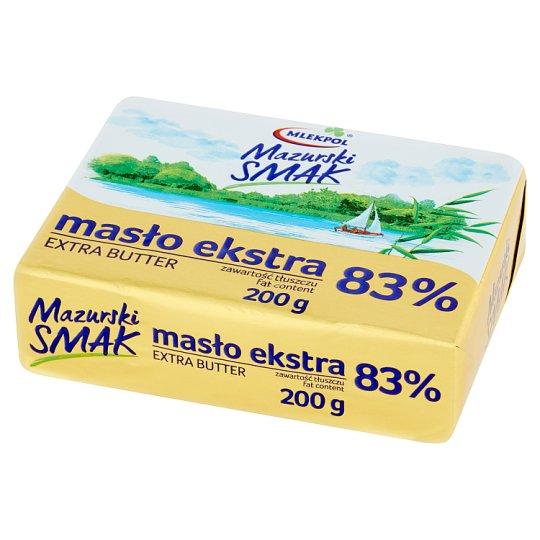 Mlekpol Mazurski Smak Masło ekstra 200 g