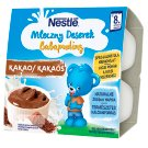 Nestlé Mleczny Deserek o smaku czekoladowym po 8 miesiącu 400 g (4 sztuki)