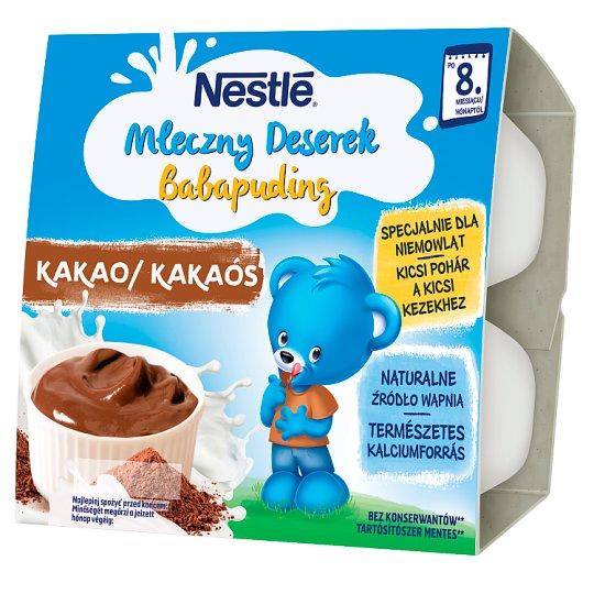 Nestlé Chocolate Flavoured Milk Dessert after 8 Months Onwards 400 g (4 Pieces)