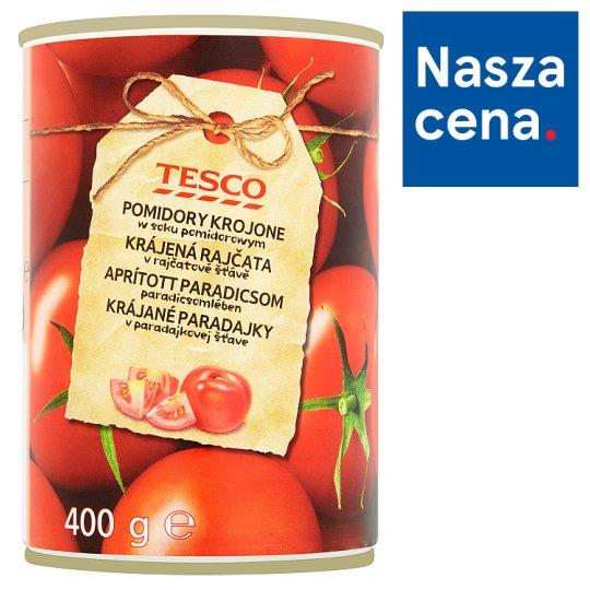 Tesco Chopped Tomato in Tomato Juice 400 g