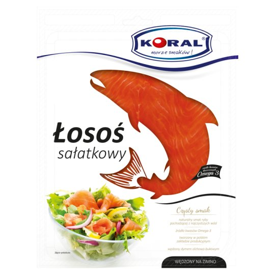 Koral Cold Smoked Salad Salmon 100 g