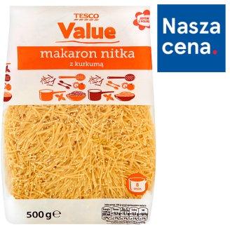 Tesco Value Makaron nitka z kurkumą 500 g