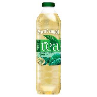 Żywiec Zdrój Green Tea Zielona herbata & Mięta Napój niegazowany 1,5 l