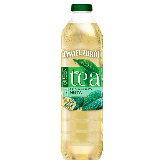Żywiec Zdrój Green Tea Green Tea & Mint Still Drink 1.5 L