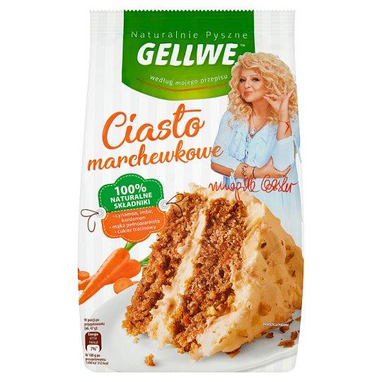 Gellwe Naturalnie Pyszne Baking Mix Carrot Cake 430 g