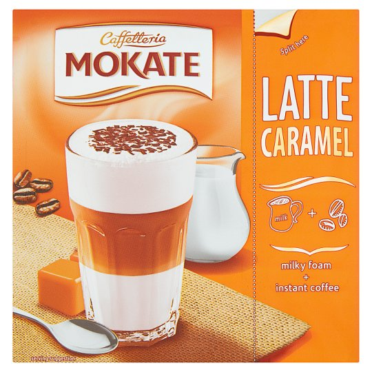 Mokate Caffetteria Caramel Latte 22 g