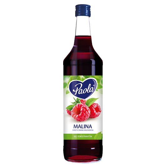 Paola Raspberry Flavoured Syrup 970 ml