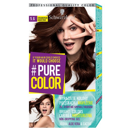Schwarzkopf #Pure Color Hair Colorant Chocolate Praline 5.6