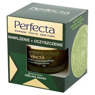 Perfecta Nawilżenie + Oczyszczenie Glicerynowy peeling sauna 55 g