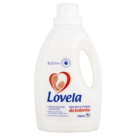 Lovela Hipoalergiczne mleczko do prania do kolorów 1,504 l (16 prań)