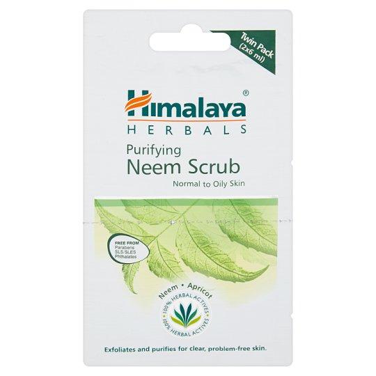 Himalaya Herbals Oczyszczający peeling z miodli indyjskiej 2 x 6 ml