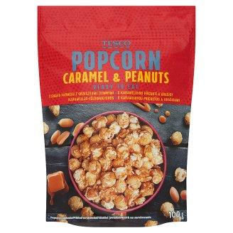 Tesco Caramel & Peanuts Flavoured Popcorn 100 g