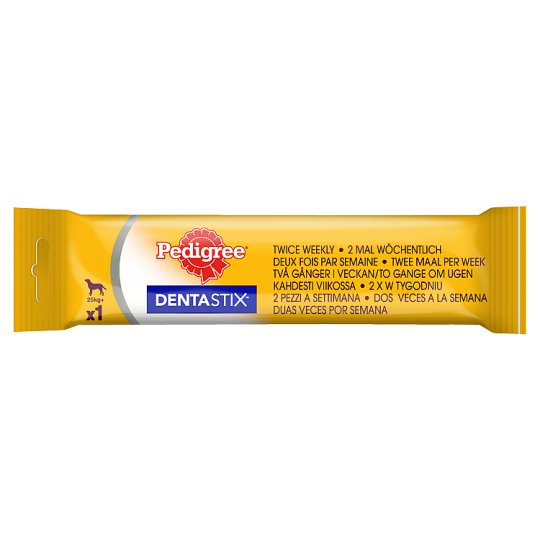 Pedigree DentaStix 25 kg + Supplementary Dog Food 120 g
