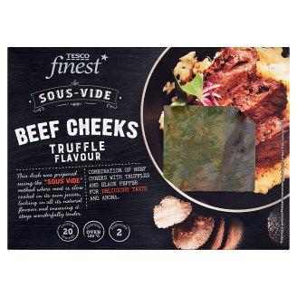Tesco Finest Sous-Vide Policzki wołowe z truflą i czarnym pieprzem z sosem miodowo-pomidorowym 500 g
