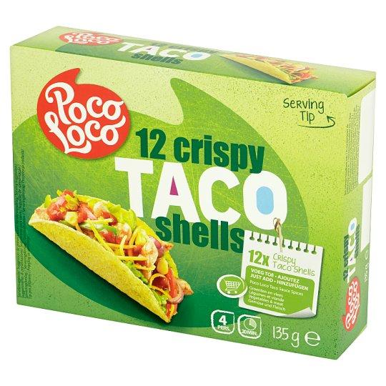 Poco Loco Crispy Taco Shells 135 g (12 Pieces)