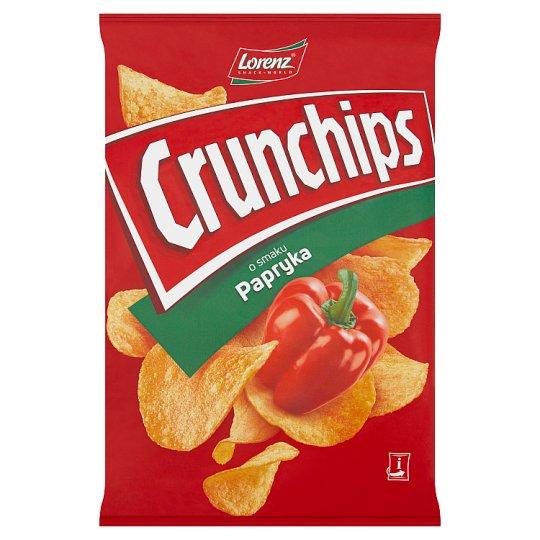 Crunchips Paprika Flavour Potato Crisps 140 g