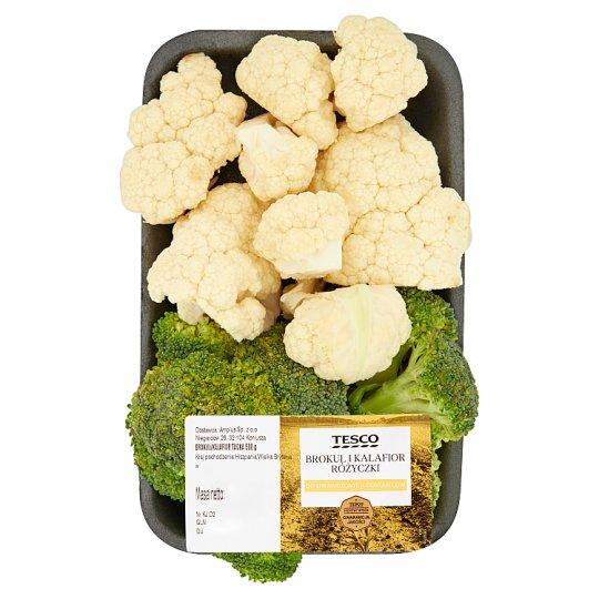 Tesco Cauliflower and Broccoli Florets 500 g