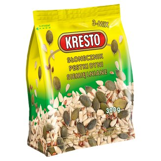 KRESTO Sunflower Seeds Pumpkin Seeds Linseed 300 g