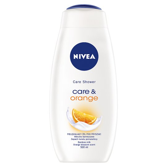 NIVEA Care & Orange Shower Gel 500 ml