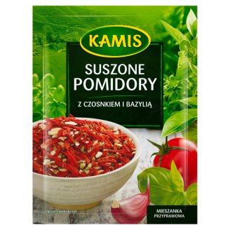 Kamis Suszone pomidory z czosnkiem i bazylią Mieszanka przyprawowa 15 g