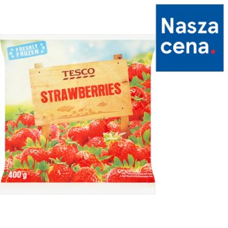Tesco Strawberries 400 g