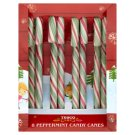 Tesco Peppermint Candy Canes 96 g (8 Pieces)