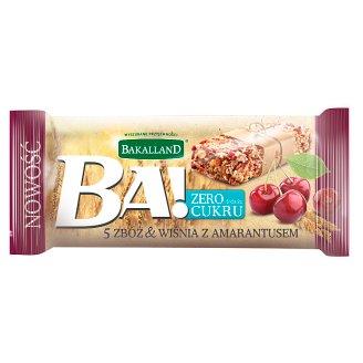 Bakalland Ba! 5 zbóż & wiśnia z amarantusem Baton 30 g