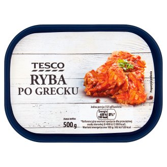 Tesco Greek Style Fish 500 g