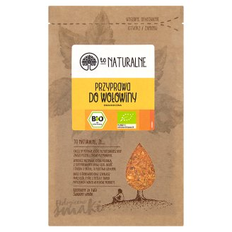 To Naturalne Ecological Beef Seasoning 20 g