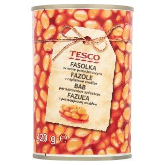 Tesco Fasolka w sosie pomidorowym 420 g